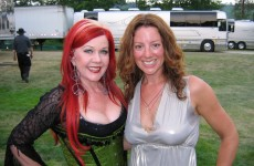 Kate Pierson of the B-52's & Sara McLachlan